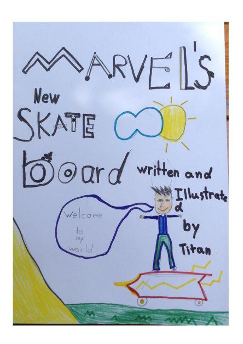 Marvel's Skate Board by Titan