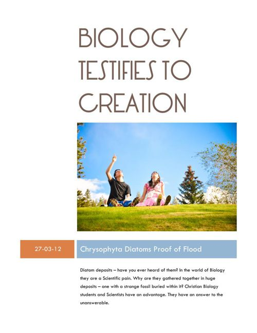 Biology Testifies to Creation