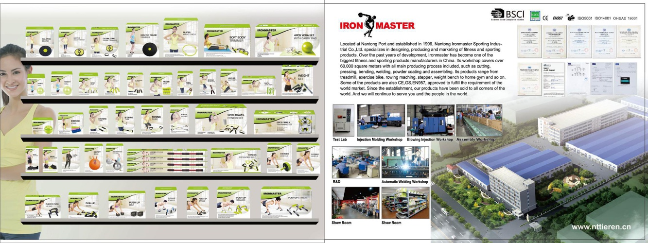 Ironmaster Exercise accessories