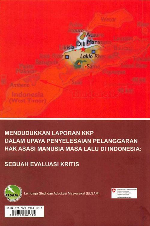 Mendudukkan laporan KKP dalam upaya penyelesaian pelanggaran Hak