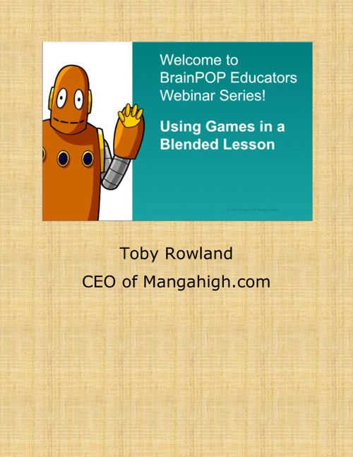 Using Games in a Blended Classroom