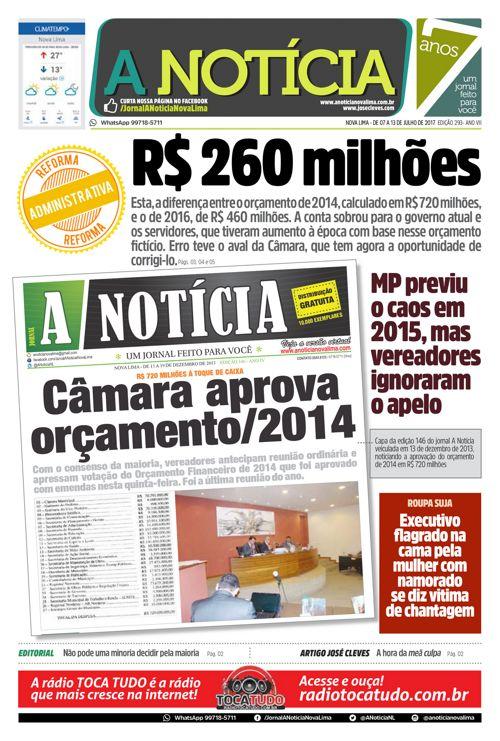 Jornal A Notícia - Edição 293