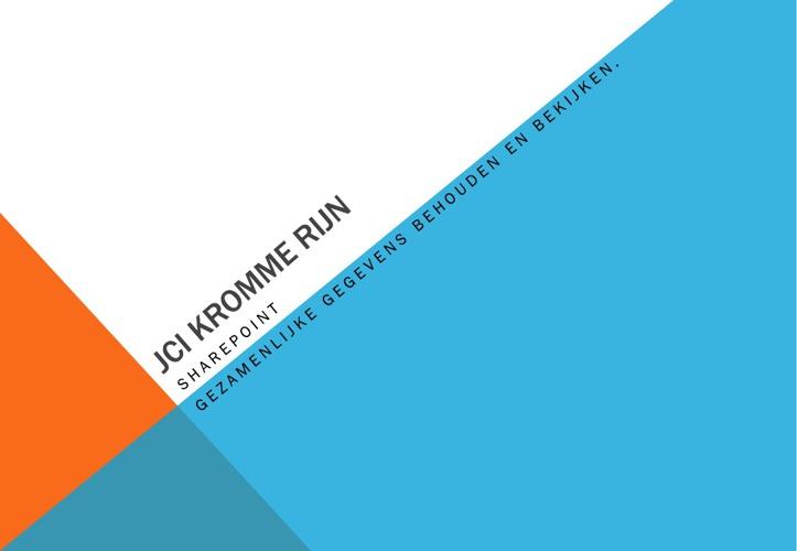 JCI Sharepoint
