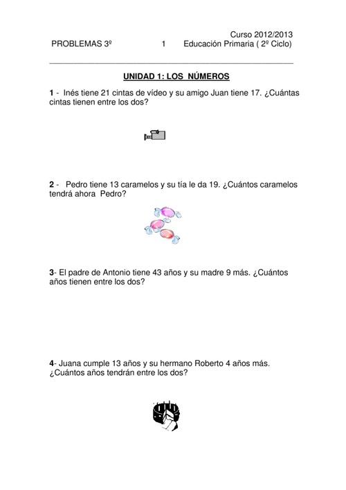 Matemáticas 3P