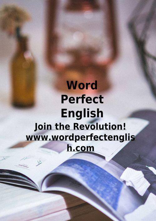 Word Perfect English - Skype English Lessons