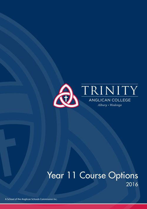 Year 11 Course Options 2016
