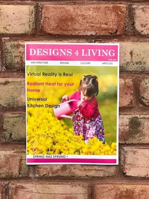 DESIGNS 4 LIVING MAGAZINE Spring Issue 2017 EMagazine