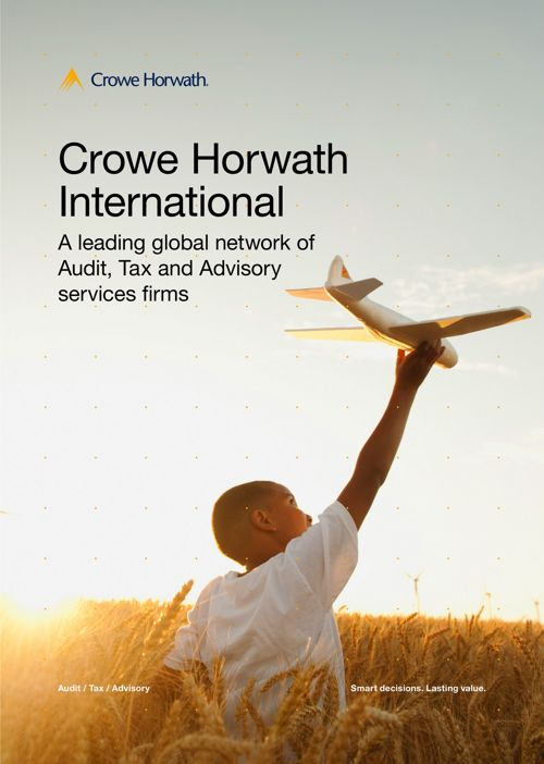 Crowe Horwath Jamaica  Service Brochure 2018