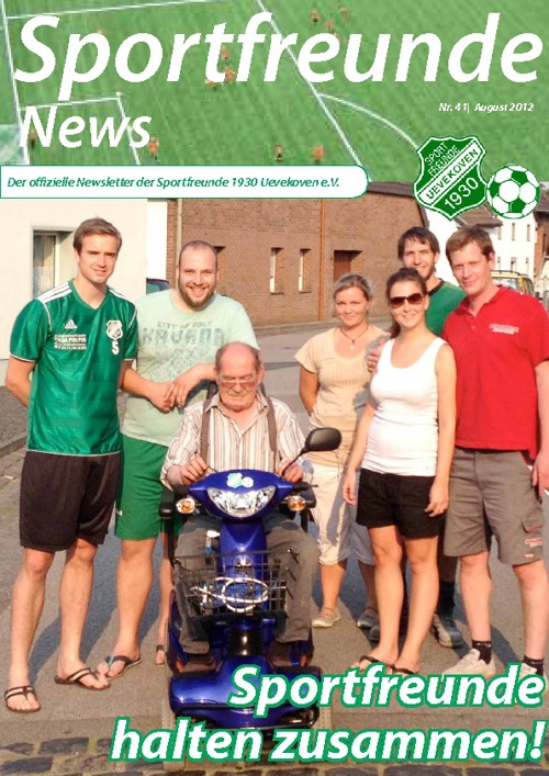 Sportfreunde News Nr. 41 - August 2012