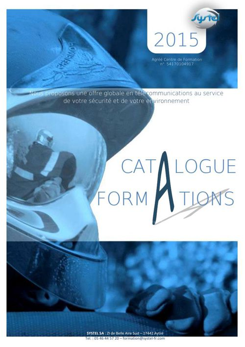 Catalogue Formation SYSTEL 2015