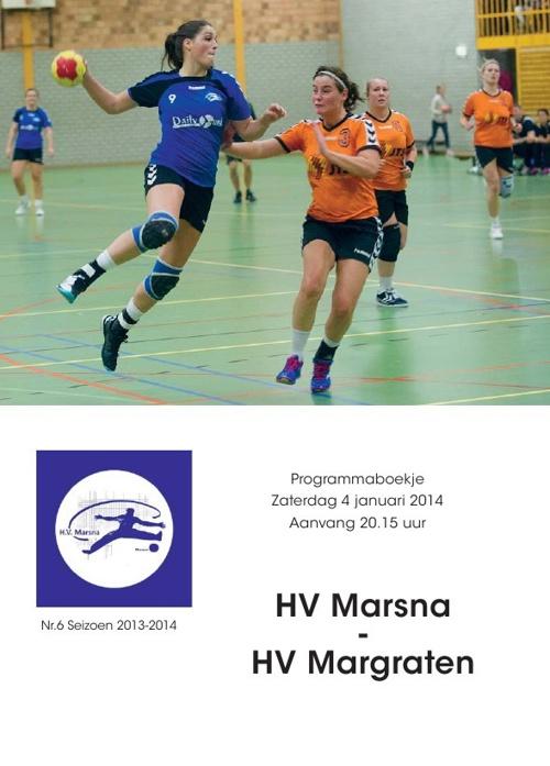 Programmaboekje 6: Marsna - Margraten