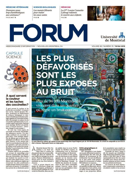Forum - semaine du 18 mai 2015