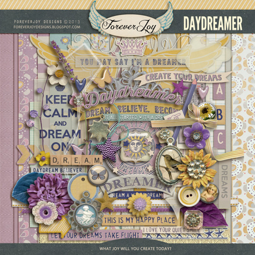 Daydreamer Page Kit by Foreverjoy