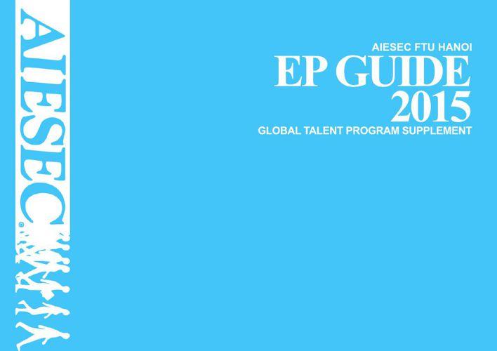 [AIESEC FTU HN] EP Guide 2015