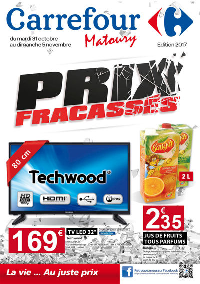 Catalogue Prix Fracassés