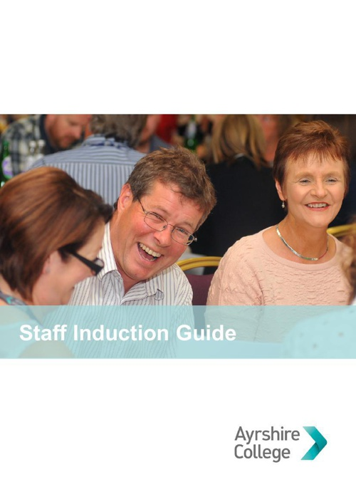 Ayrshire College Staff induction Guide