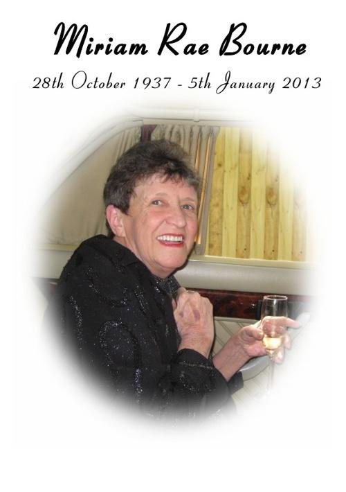 Miriam Bourne
