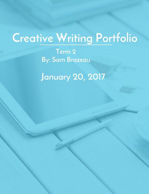 creative writing portfolio part 2
