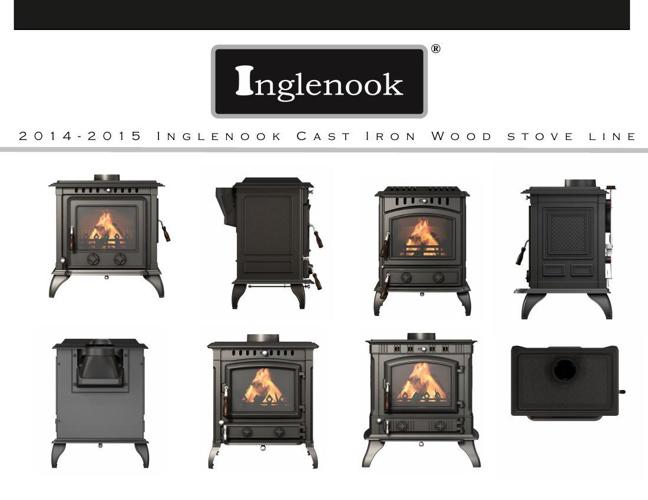 2014-2015 Inglenook Cast Iron Wood Stove Line Catalog