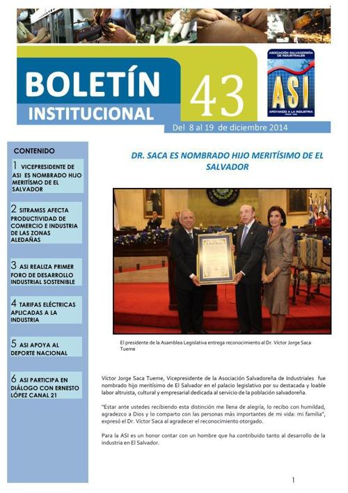 Boletín 43 ASI