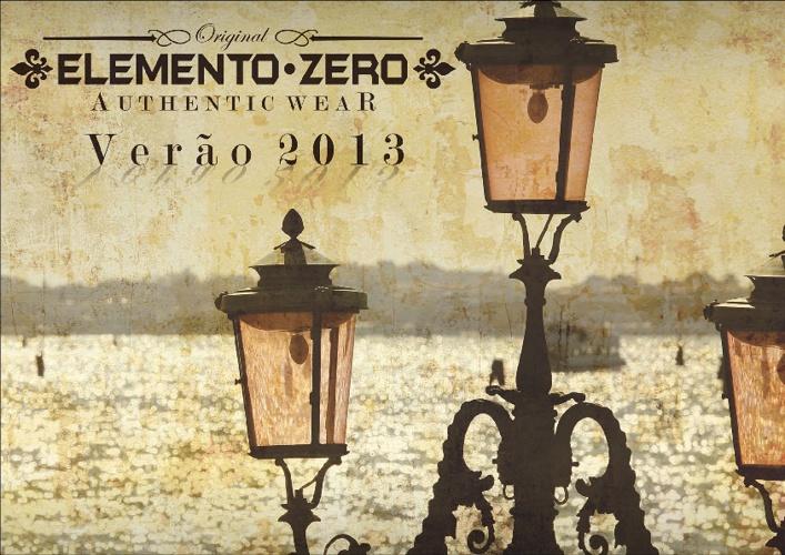 ELEMENTO ZERO | VERÃO 2013