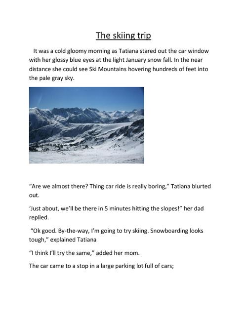 The Skiing Trip