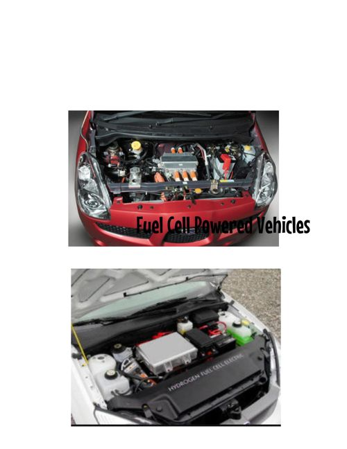 fuel cell powered vehicles