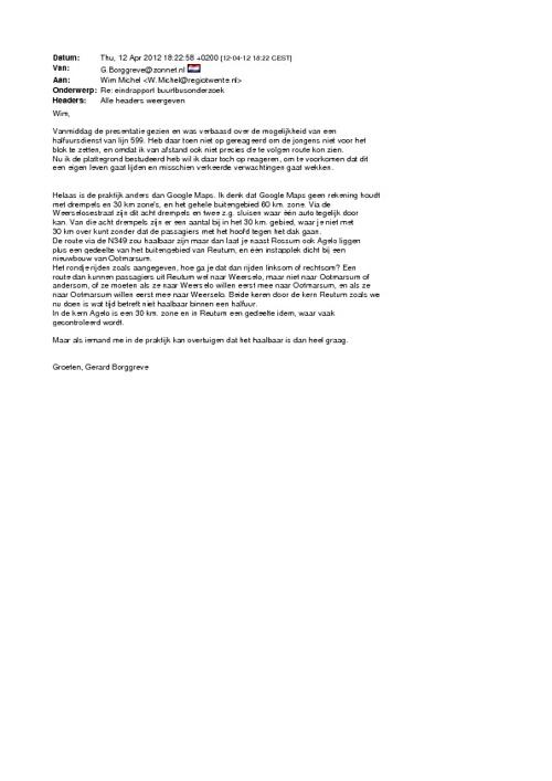 Eindverslag Regio Twente