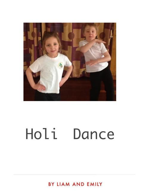 Class 4 Holi Dance