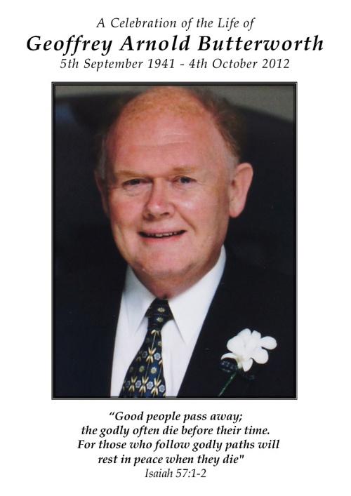 Geoffrey Butterworth
