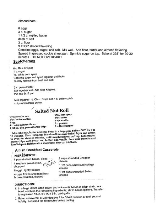 julianne's foods class recipe book