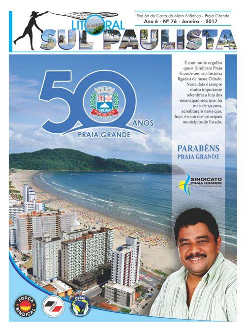 JORNAL LITORAL SUL PAULISTA N 76 JANEIRO 2017 FACE