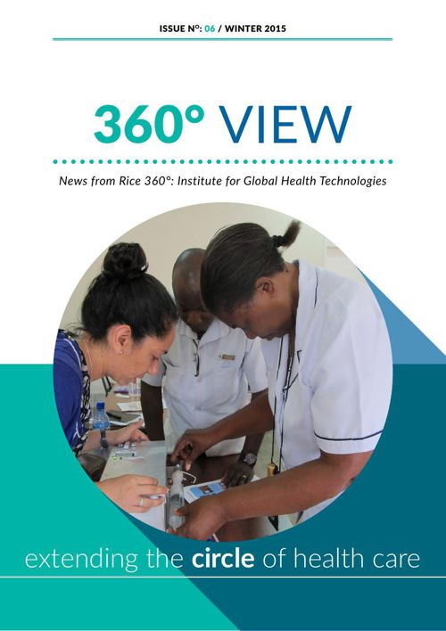 Rice 360 Newsletter Winter 2015
