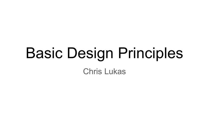 Basic Design Principles Chris Lukas