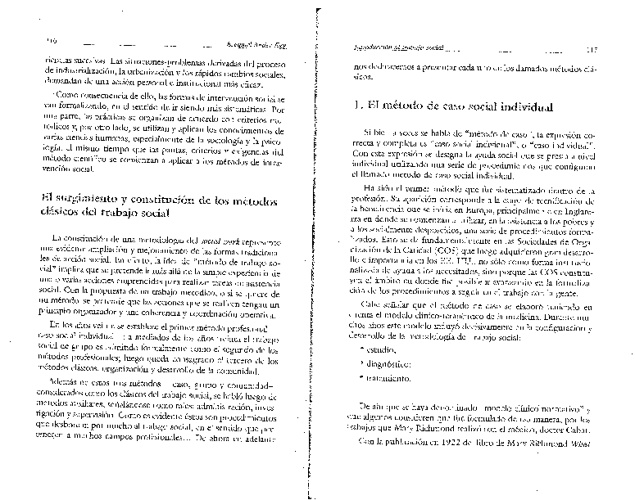 TRABAJO SOCIAL: CASOS, GRUPO Y COMUNITARIO