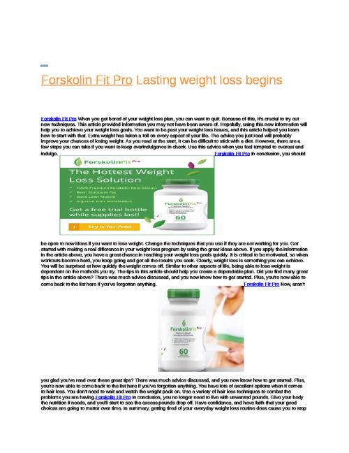 Forskolin_Fit_Pro_Lasting_weight_loss_begins