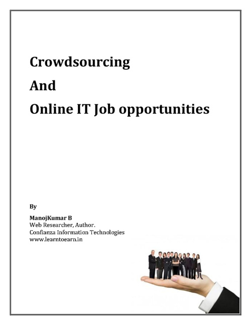 Crowdsourcing And Online IT Job Opportunities