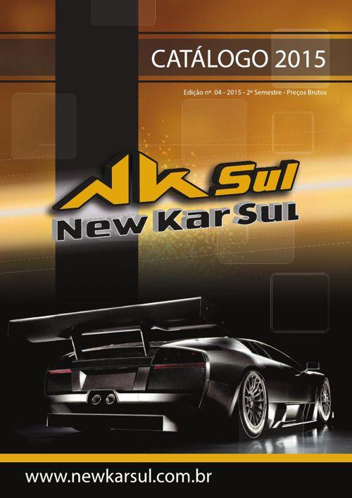Catálogo New Kar Sul 2015