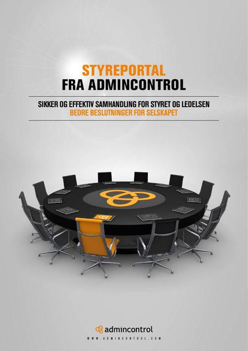 Styreportal fra Admincontrol