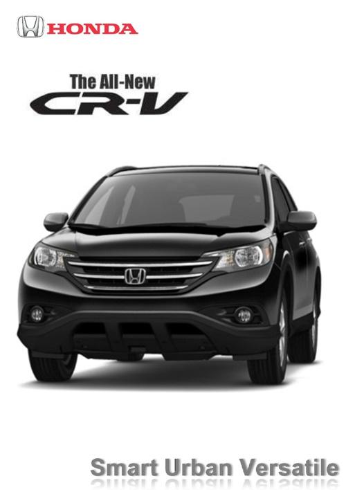 The All-New Honda CR-V  (Digital Brochure by HCQC)