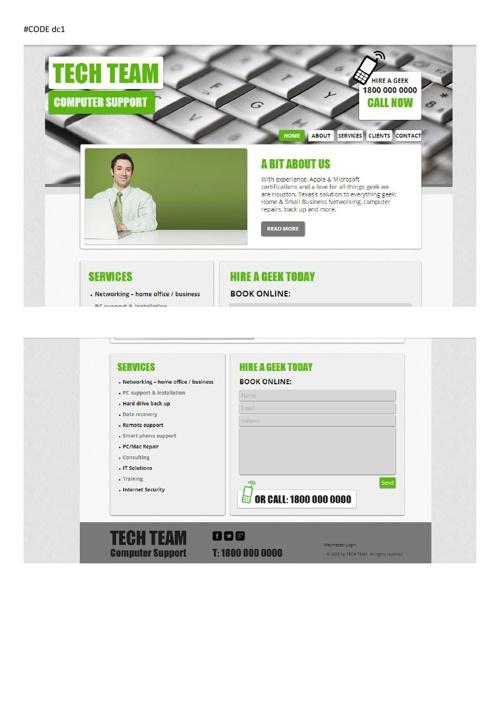 WEB pavyzdžiai