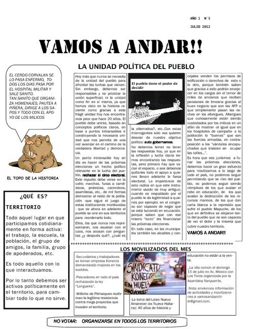 VAMOS A ANDAR N°5