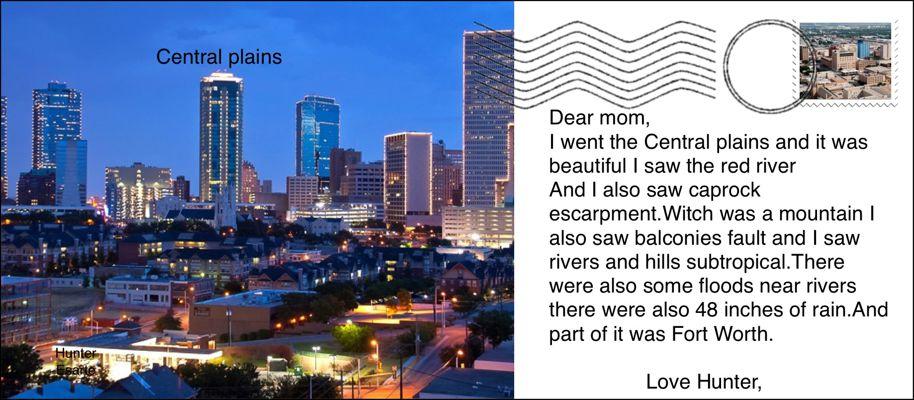 Aucoin: Texas Landform Postcard