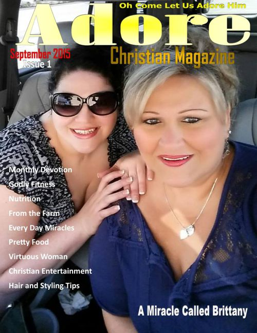 adore christian magazine Premiere Issue September 1