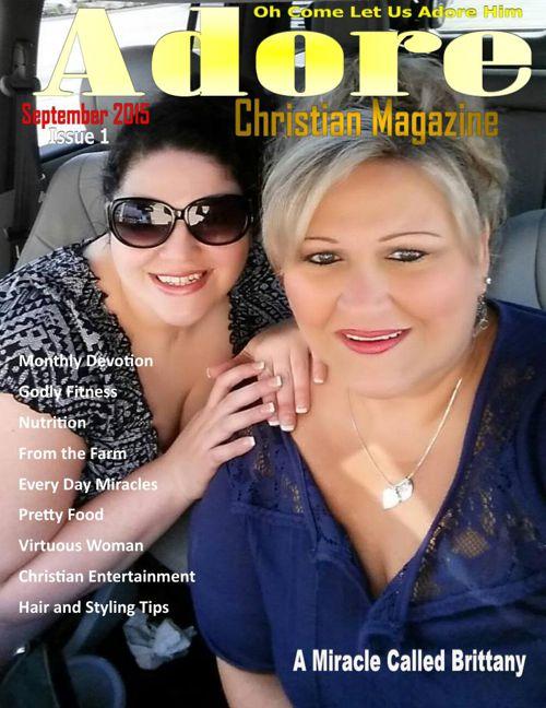 adore christian magazine Premiere Issue September 1