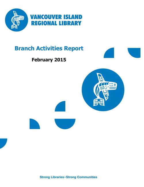 2015 February Branch Activities Report