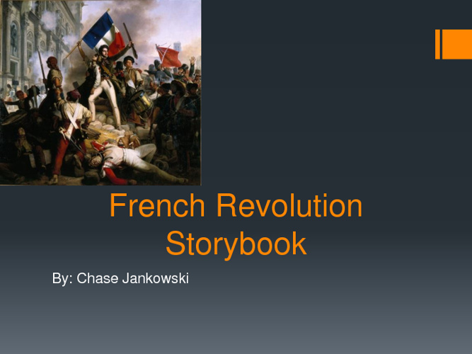 French Revolution Story book