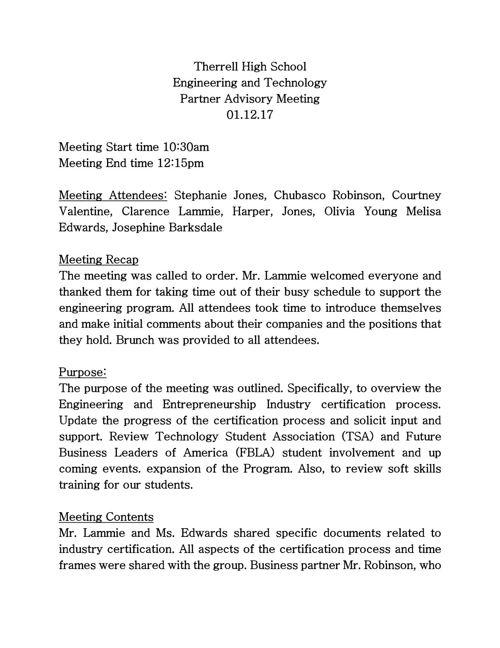 Advisory meeting minutes (3)