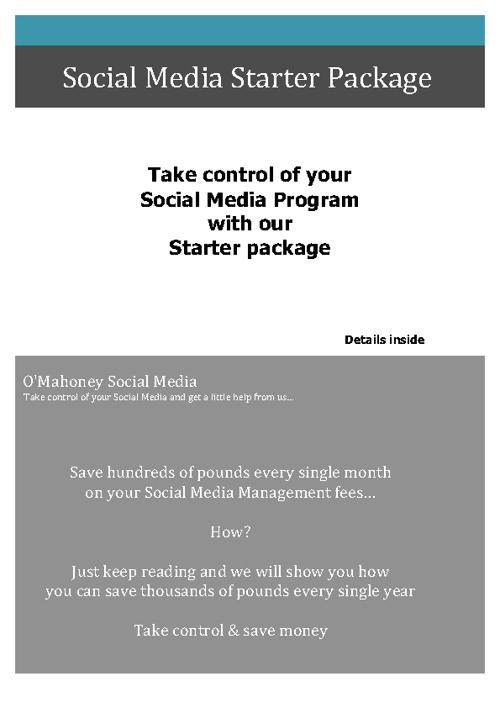 Social Media Starter Package