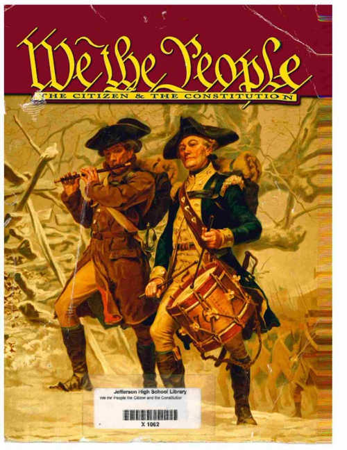 We the People Table of Contents and Reference